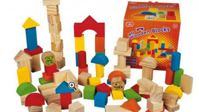 Chad Valley 80 Piece Wooden Blocks 499 At Argos