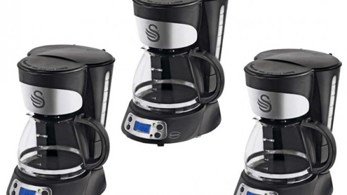 Swan Programmable Coffee Maker 1599 At Argos