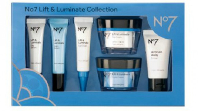No7 Lift and Luminate Collection For £50 00 @ Boots