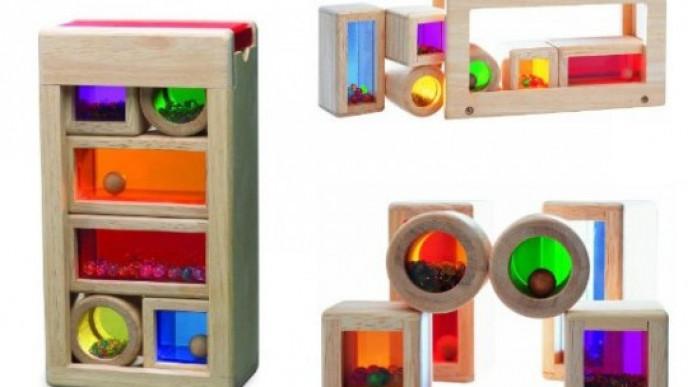 Wonderworld Wooden Rainbow Sound Blocks 1359 At Amazon