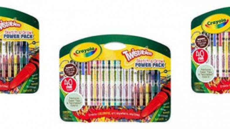 Twistables Colored Sketch /& Draw Pencils Crayons 40 Piece Set Draw Doodle Write