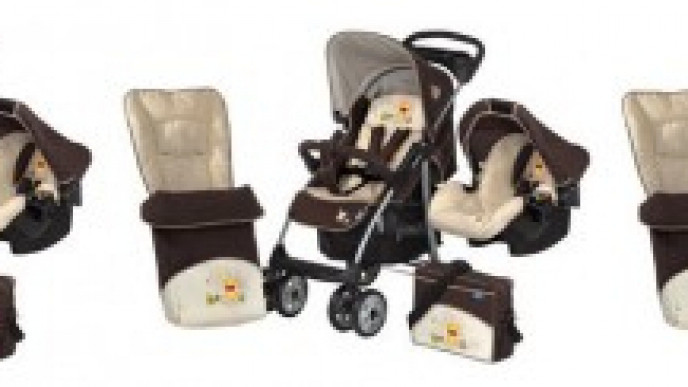 Hauck Winnie The Pooh 6 Piece Travel System 144 99 Babies R Us