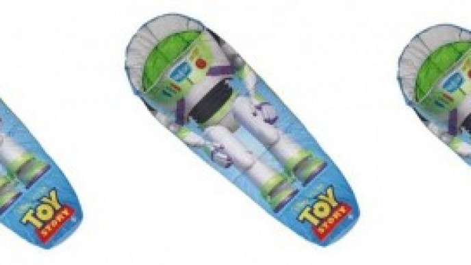 premium selection 94b01 d2126 Toy Story Buzz Lightyear Sleeping Bag £8.99 @ Home Bargains