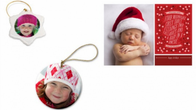 Snapfish Christmas Cards.Pack Of 20 Personalised Photo Christmas Cards Or Photo Gifts