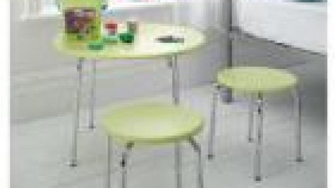 Doodle Table And Stool Set 1449 At Tesco Direct