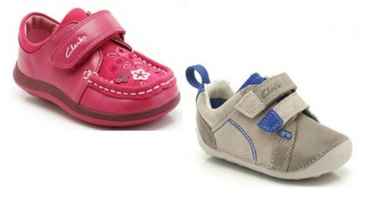 Kids' Shoe Sale: Items From £7 @ Clarks