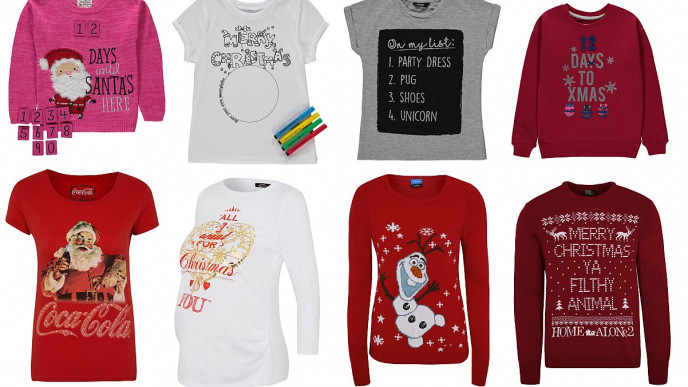 Christmas Tops.New Christmas Jumpers Tops From 2 50 Asda George