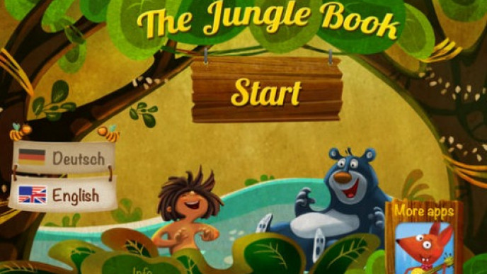 EXPIRED) The Jungle Book Storybook Reading For Kids App FREE