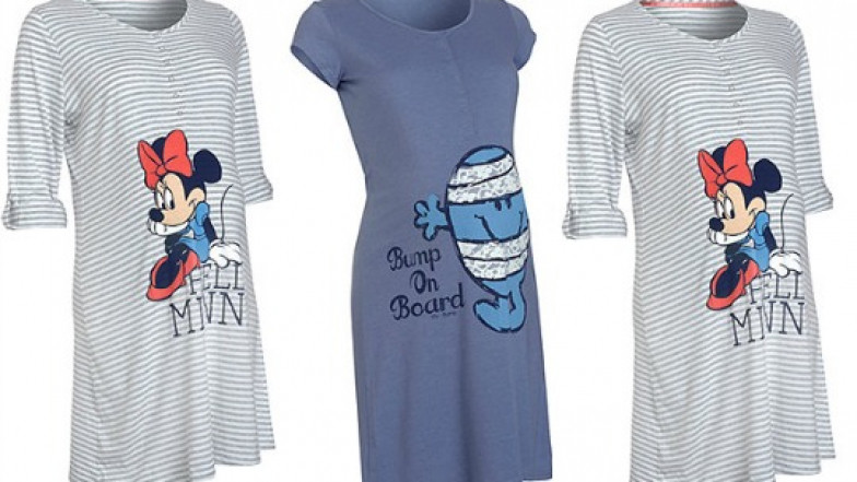 6aba029bde58f Minnie Mouse/Mr Bump Maternity Nightdress £8 @ Mothercare
