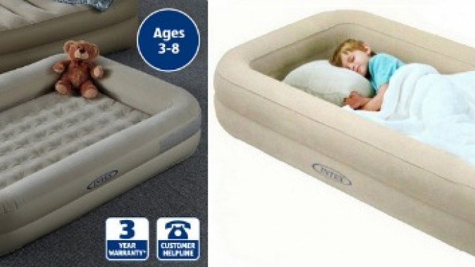 Kids Travel Bed & Mattress £19.99 @ Aldi from 12th March