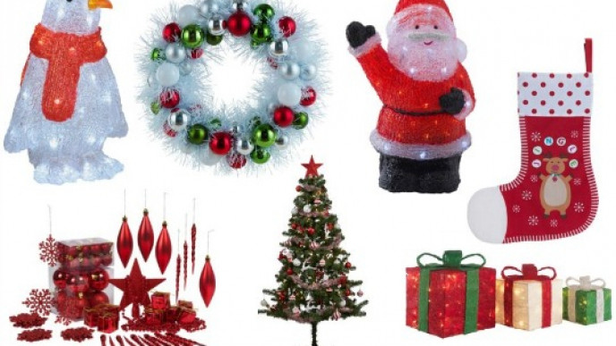 70 Off Christmas Trees Lights Decorations Argos