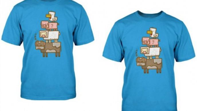 minecraft t shirt argos