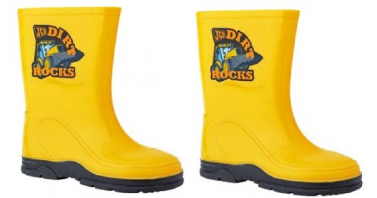 JCB Boys' Yellow Wellies £4.49 @ Argos