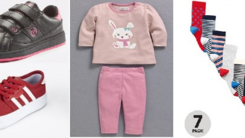 f935d56df34ed Kids' Clothing Starting From 99p Plus Spend Over £5 Off With £20 Spend  (With Code) @ Bargain Crazy