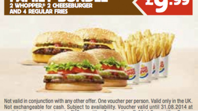 photograph regarding Burger King Printable Application identified as Cost-free Printable Low cost Vouchers For Burger King Food