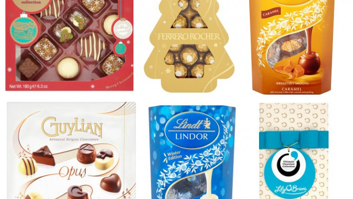 3 For 10 On Boxed Chocolate Gifts At Asda