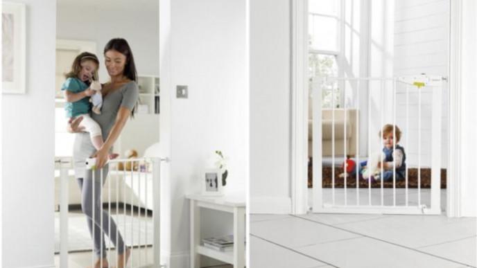 Lindam Sure Shut Securus Safety Stair Gate 2 For 163 30