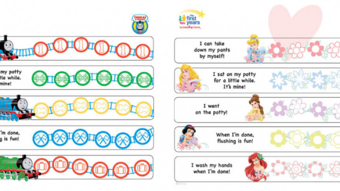 picture about Printable Potty Chart named Cost-free Printable Potty Doing exercises Charts