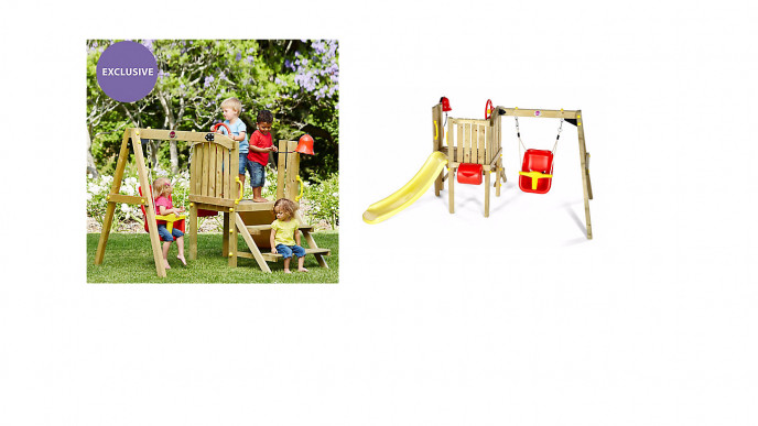 Plum Toddler Tower Wooden Play Centre 19999 Delivered At Early
