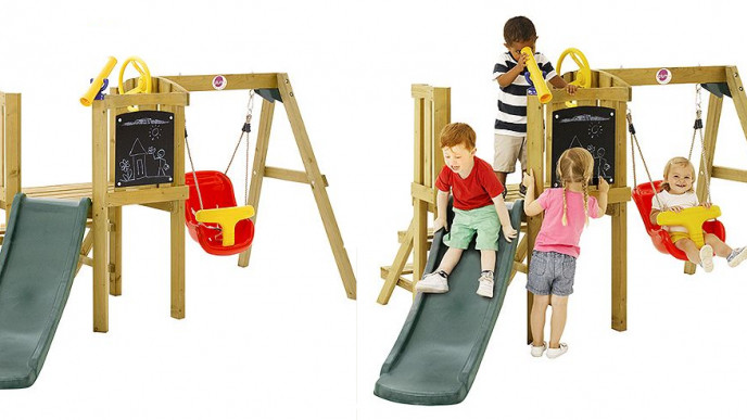 Plum Toddlers Tower Wooden Play Centre Now 195 Was 260 At Tesco