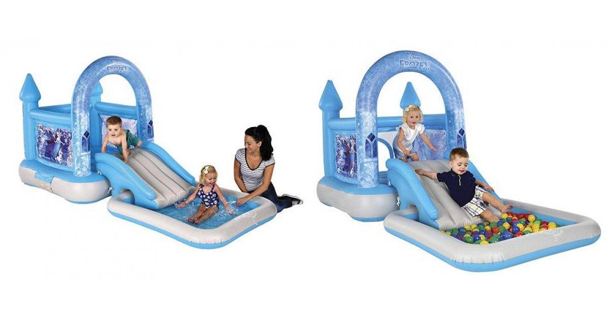 Airprotech Junior Frozen Bouncy Castle House Slide Amp Pool