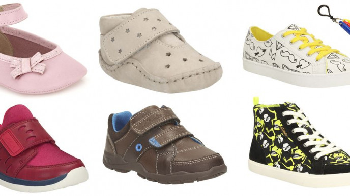 Kids Shoes Now From £6 In The Clarks