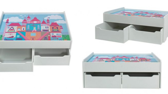 Chad Valley Castle Storage Play Tables 3194 Delivered At Argos