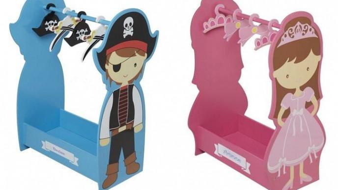 e6185496c0c1 Personalised Pirate Dressing Up Rail & Princess Rail Now £39.99 Each @  Studio