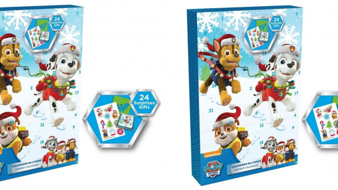 where to buy the paw patrol advent calendar in the uk. Black Bedroom Furniture Sets. Home Design Ideas