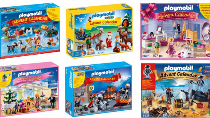 playmobil advent calendars from 14 asda george. Black Bedroom Furniture Sets. Home Design Ideas