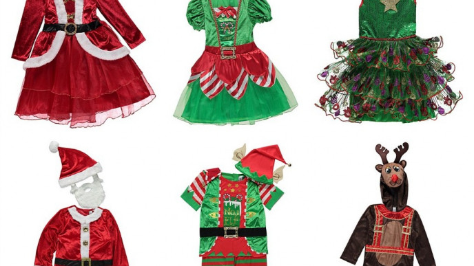 Kids' Christmas Fancy Dress Outfits From £10 @ Asda George