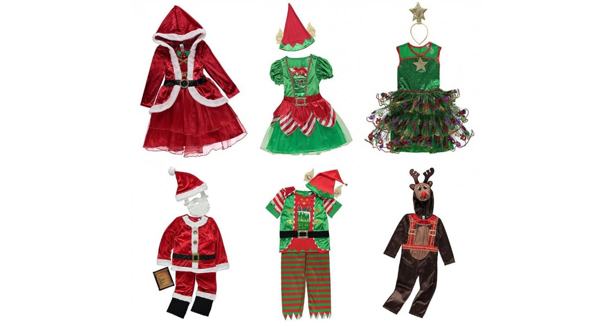 Kids Christmas Fancy Dress Outfits From 163 10 Asda George