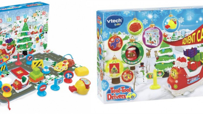 vtech toot toot drivers advent calendar 10 asda george. Black Bedroom Furniture Sets. Home Design Ideas