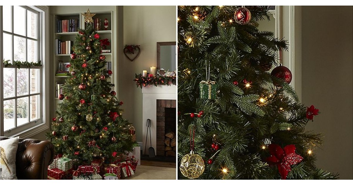 7Ft Luxury Regency Fir Christmas Tree £35 Using Code