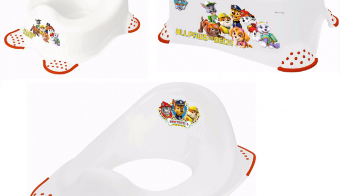 Super Paw Patrol Potty Training Seat Step Stool 5 Each Asda Gmtry Best Dining Table And Chair Ideas Images Gmtryco