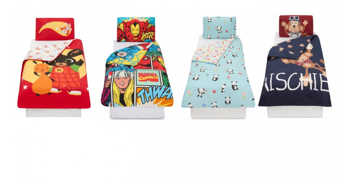 Toddler Duvet Covers From £6 @ Asda George