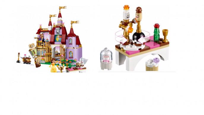 Princess Castle 97Asda Enchanted Belle's Lego Disney £33 e9WEH2DIY