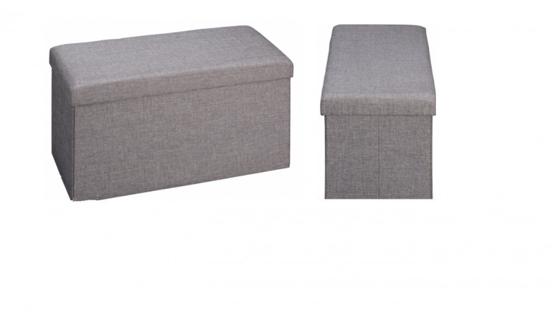 George Home Ottoman Grey Only 15 At Asda George