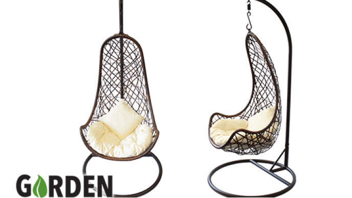 180 Off Al Fresco Marbella Hanging Egg Chair and Cushion Now