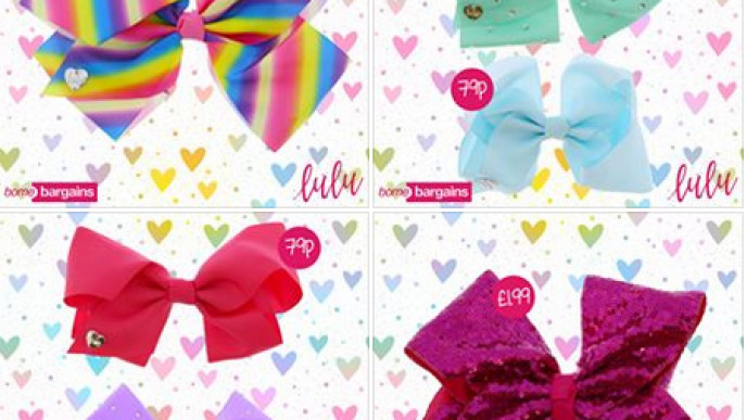 Lulu Bows Like Jojo Bows From Just 79p Instore Home Bargains
