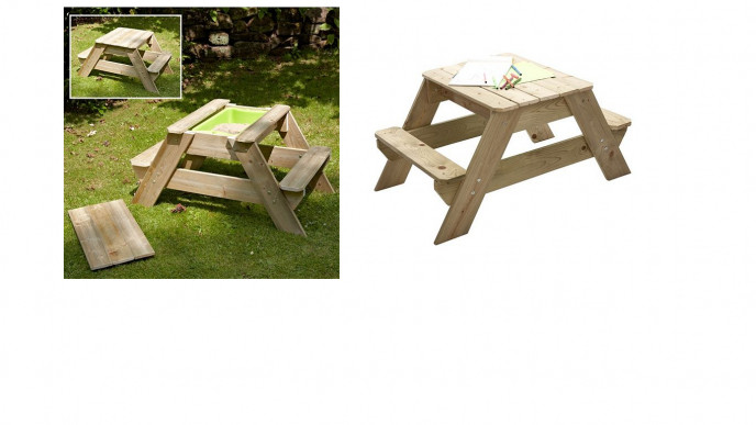 Tp Early Fun Picnic Table 56 At Tesco Direct