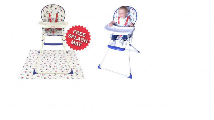 Awesome Red Kite Ahoy Ahoy Highchair With Free Splash Mat 27 Asda Dailytribune Chair Design For Home Dailytribuneorg