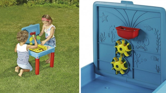 Sand And Water Activity Table 163 17 50 Was 163 30 Tesco