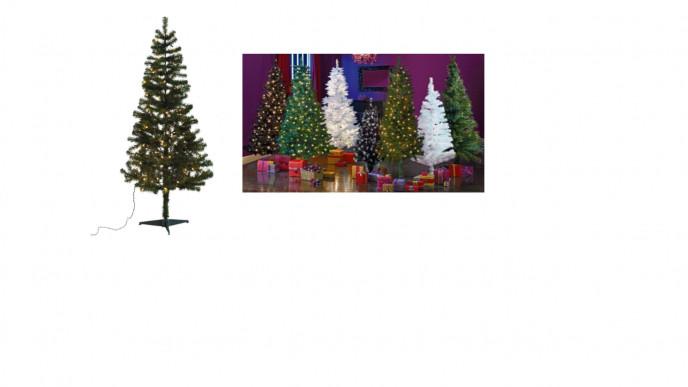 Green Pre-lit Christmas Tree