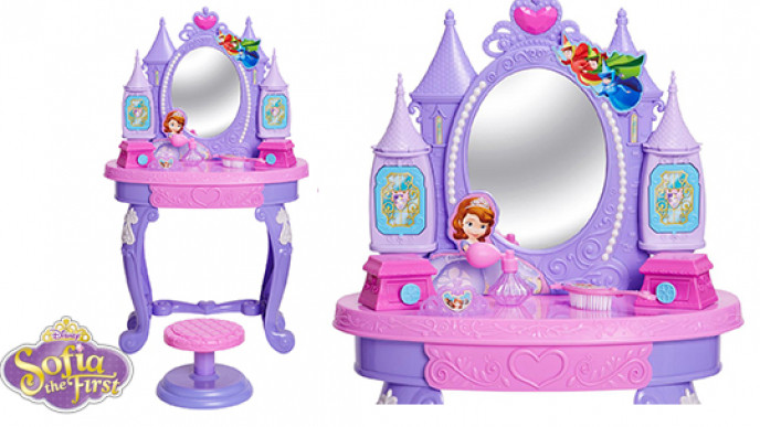 Disney Sofia The First Enchanted Royal Vanity Table