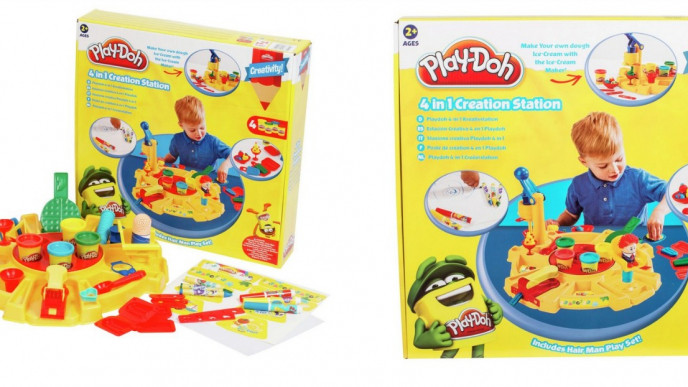 Play Doh 4 In 1 Creation Station 163 9 99 Was 163 19 99 Argos