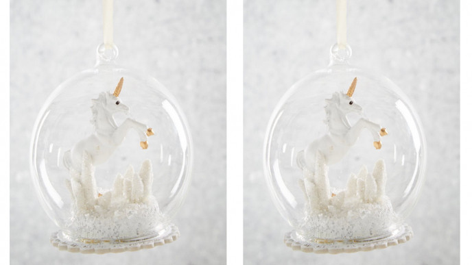 Coming Soon: Unicorn Christmas Tree Decoration £3 @ Matalan