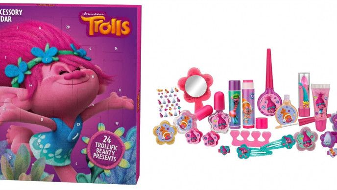 trolls cosmetic accessory advent calendar amazon. Black Bedroom Furniture Sets. Home Design Ideas