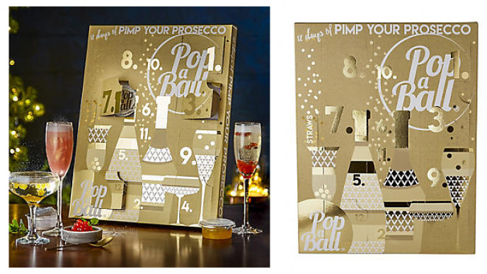 popaball 12 days of prosecco advent calendar. Black Bedroom Furniture Sets. Home Design Ideas