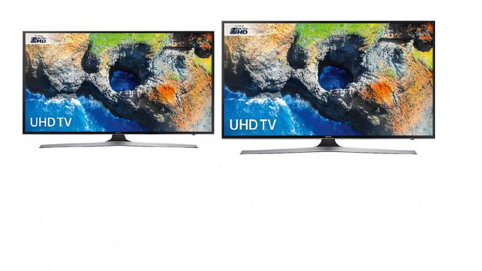 Samsung UE55MU6120 HDR 4K Ultra HD Smart TV, 55
